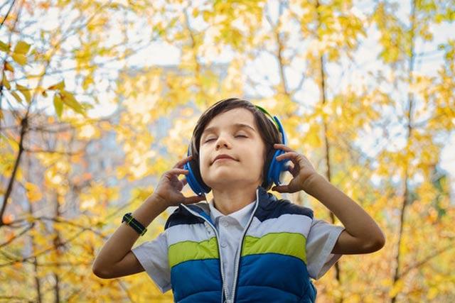 Kids Gear Volume Limit Headphones