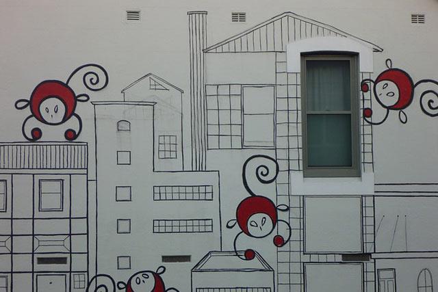 Street Art Wall Mural