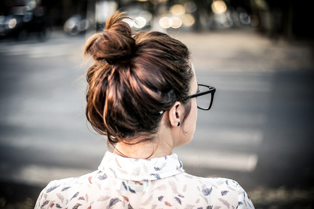 Messy Buns trending hairstyles
