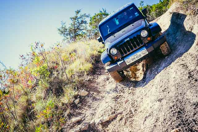 Scary Oahu off roading Trails
