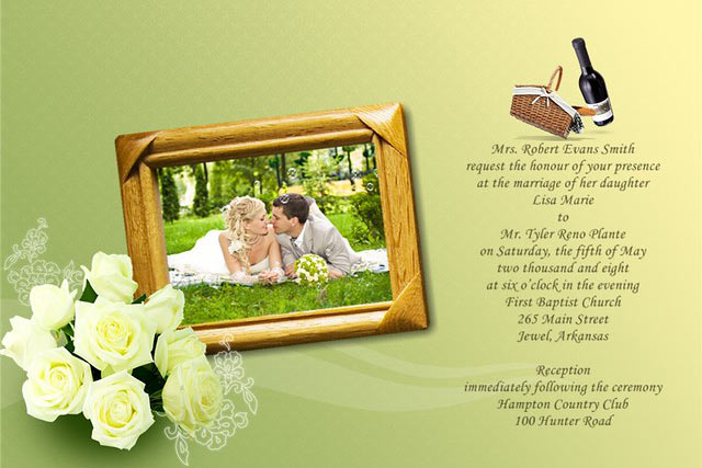 Wedding Template Themes