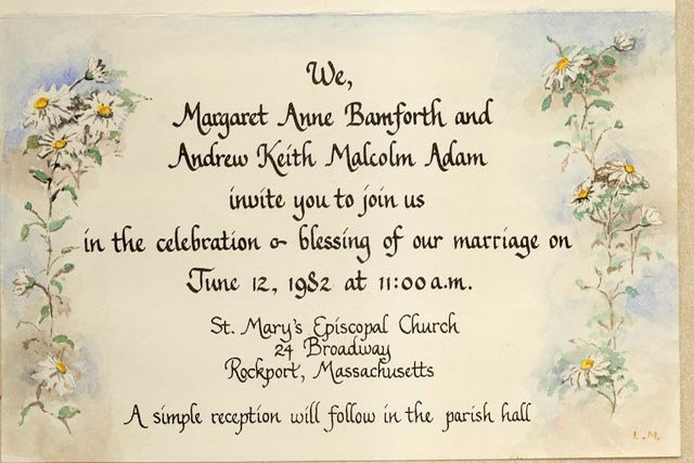 traditional wedding invitation template