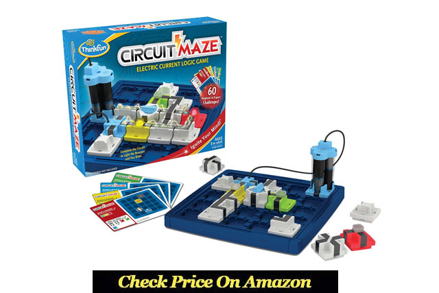 Circuit Maze Electric Logic Game