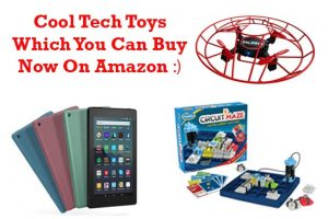 Cool tech toys and gadgets
