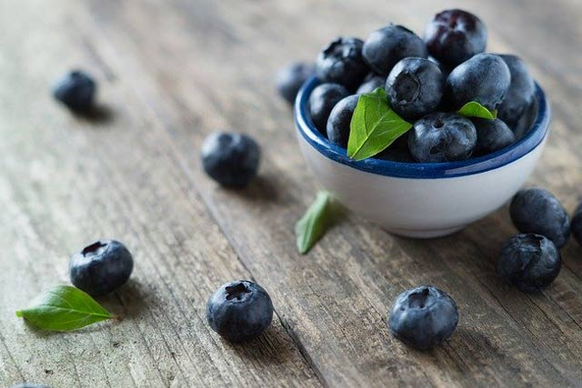 Blueberries for skin beauty