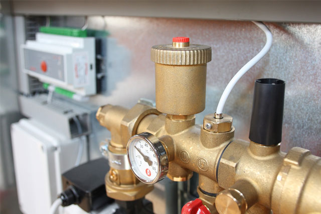 Water Heat Pump Installation